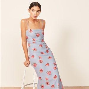 Reformation Midi Floral Dress Size S/4
